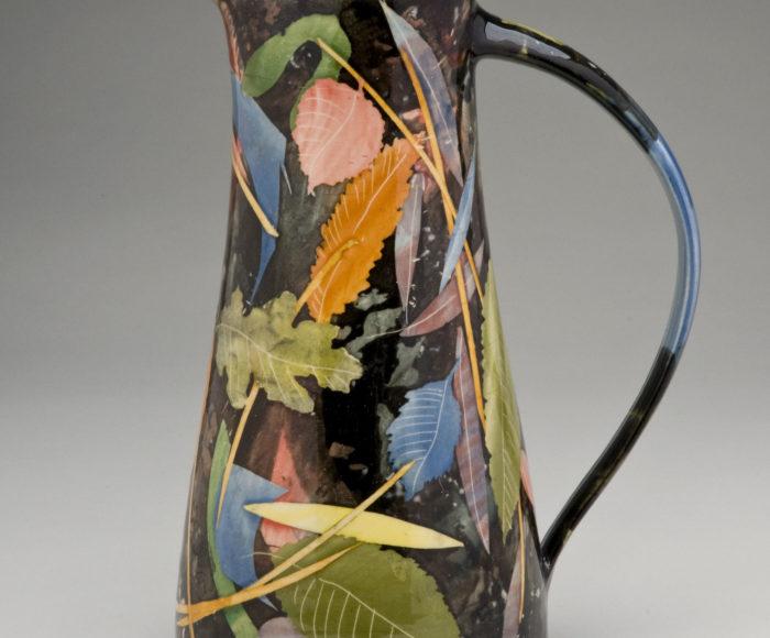 Very tall jug 30cm leaves & stalks £190