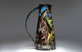 Very tall jug 31cm Scatterings £300