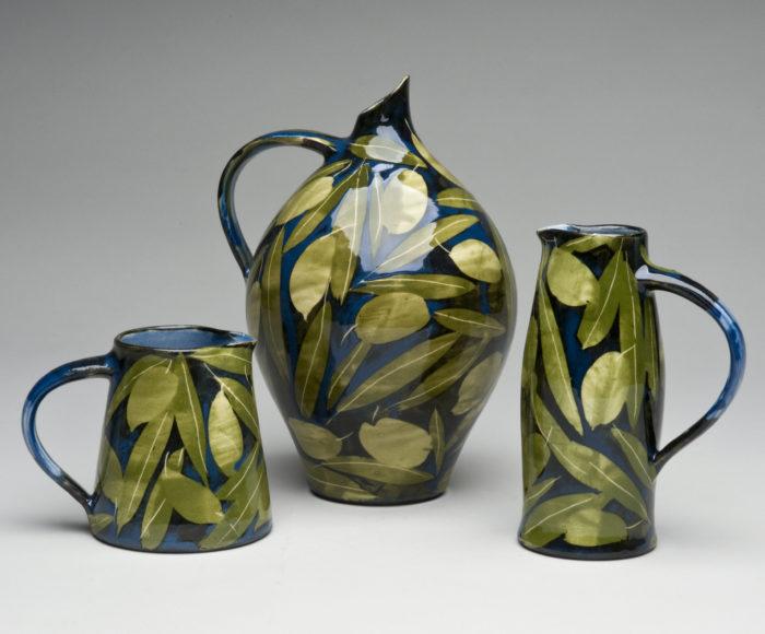 Olives and leaves range £45 - £95