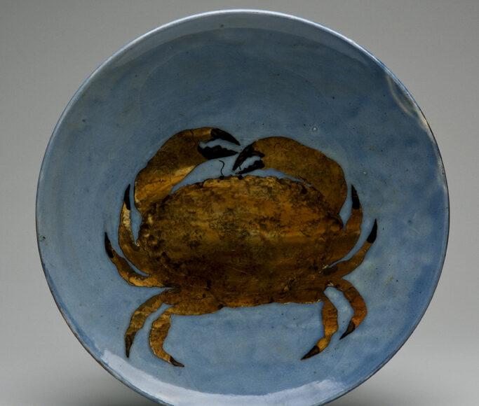 Plate 30cm, Crab. £140