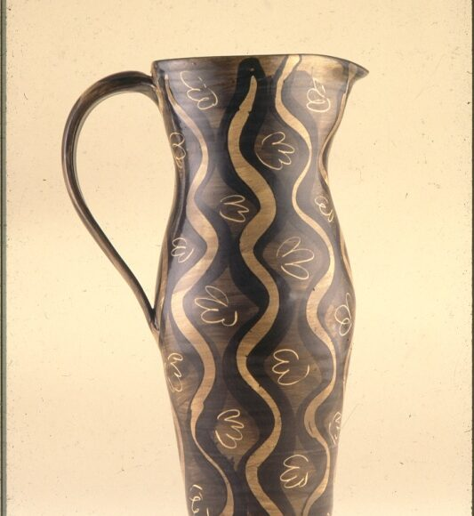 Very tall jug 38cm 1986