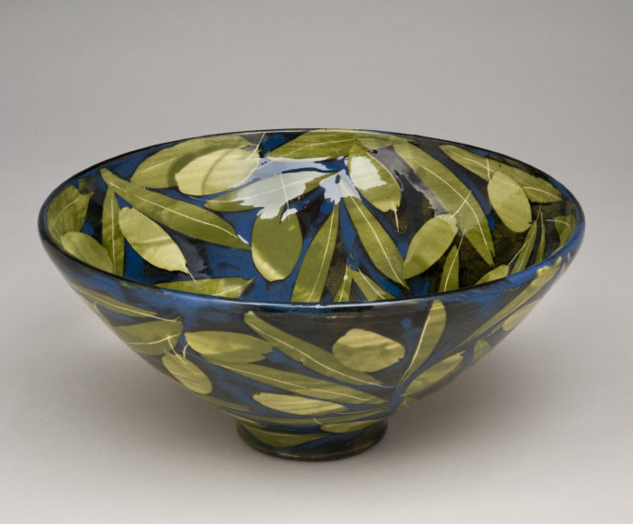 Bowl 30cm x 12cm Olives & leaves £150