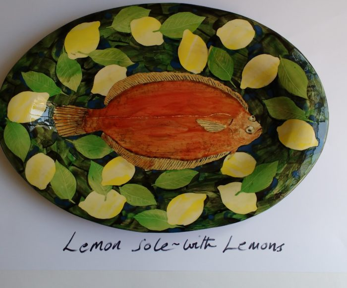 Oval platter £400