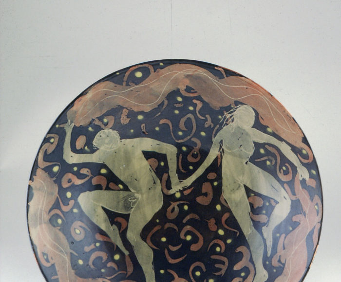 Shallow bowl 32x8cm Dancers 1986