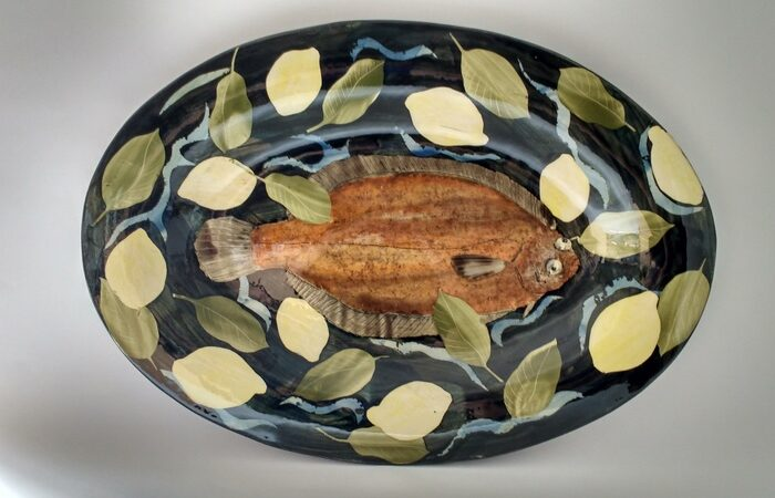 Oval Dish Lemon Sole with Lemons £400